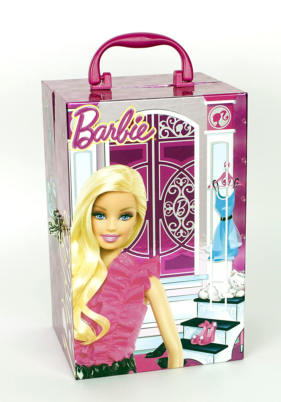 Barbie - El armario de belleza y maquillaje (Markwins 9450110): Amazon.es: Juguetes y juegos
