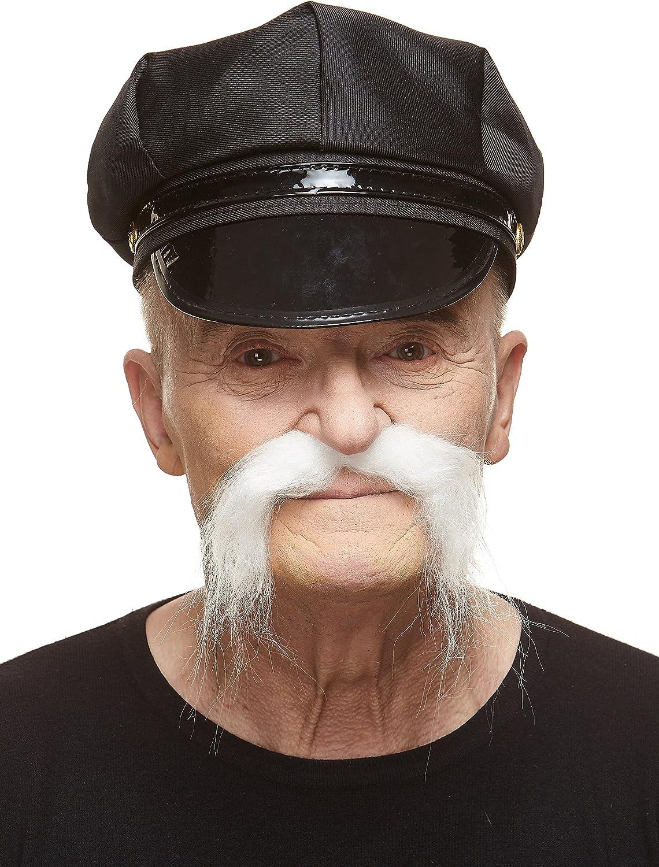 SnailGarden Fausse Moustache 74 Pi/èces,Fausses Moustaches pour D/éguisements Mexicains F/ête de la Barbe Costume de Pirate Cowboy Halloween et Performance