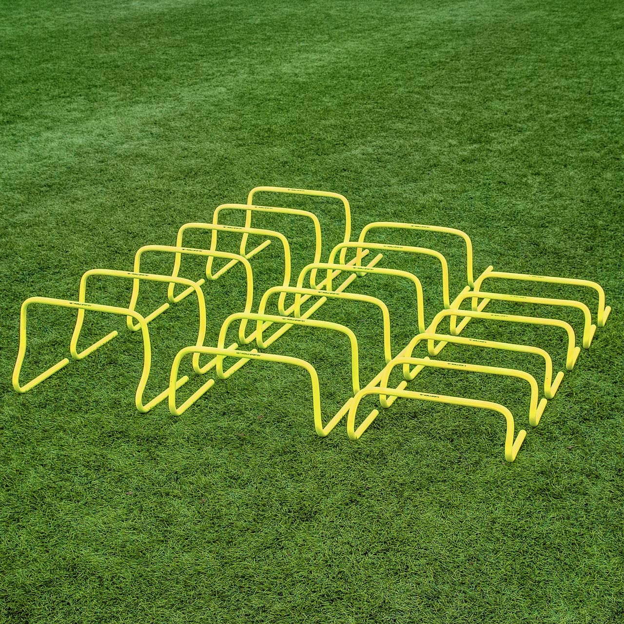 Speed Agility Training Hurdles 6 Pack Range of Sizes Net World Sports