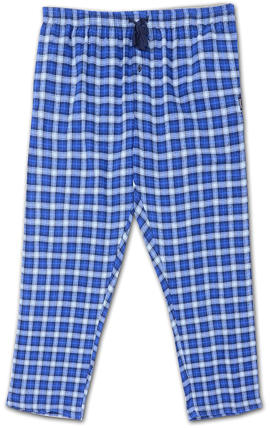 Davis Hanes Big and Tall Flannel Lounge Pant