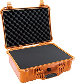 product image for Pelican 1520 Camera Case With Foam (Orange)