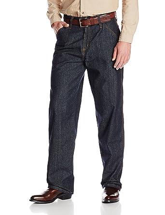 eb2c5f5278d0 Cinch Men s FR Blue Label Carpenter Loose Fit Jean at Amazon Men s ...