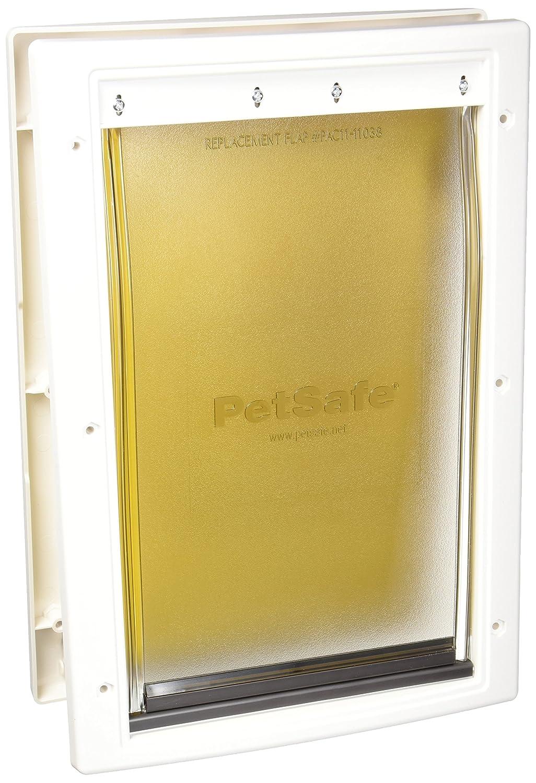Amazon Petsafe Extreme Weather Door Medium White Pet