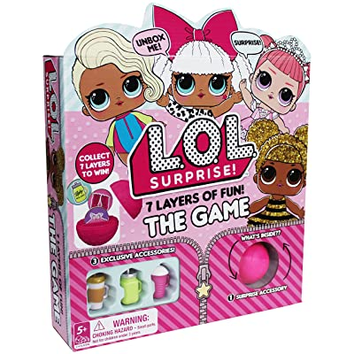L.O.L. Surprise! 7 Layers of Fun Board Game: Toys & Games