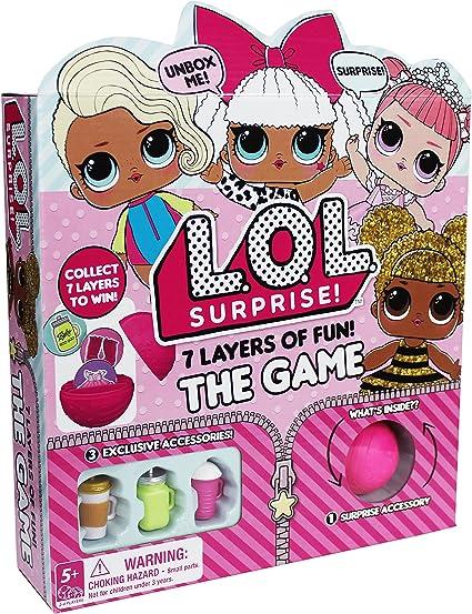Amazon Com L O L Surprise 7 Layers Of Fun Board Game Toys Games