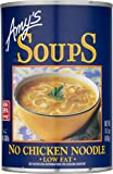 Amy's Soups, Organic No Chicken Noodle Soup, 14.1 Ounce