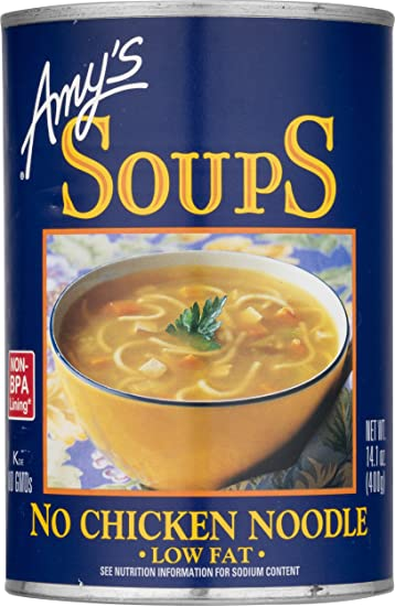 Amazon amys organic soups vegan no chicken noodle 141 ounce amys organic soups vegan no chicken noodle 141 ounce forumfinder Image collections
