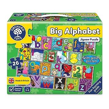 Orchard Toys Big Alphabet Floor Puzzle Amazoncouk Toys Games