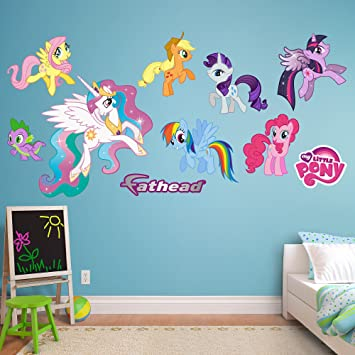 Fathead My Little Pony Collection Vinyl Decals Part 60