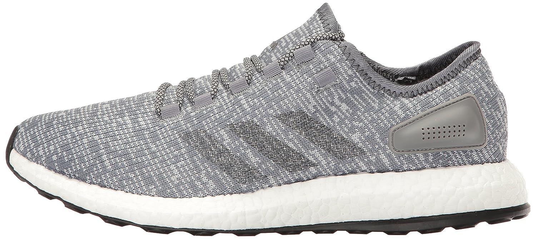 adidas Performance Men's Pureboost Running Shoe B01I0BDA0W 10.5 D(M) US|Grey/Dark Grey Heather/Clear Grey