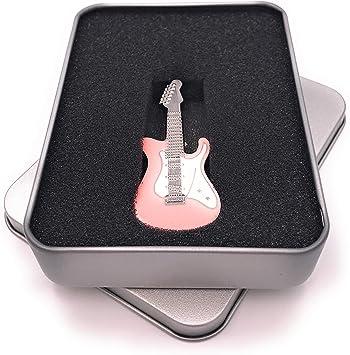 Onwomania Guitarra Instrumento Musical Guitarra eléctrica Plata ...