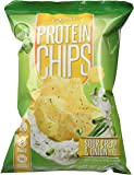 Quest Nutrition Protein Chips 8 Bags, Sour Cream & Onion, Pack of 8