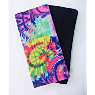 Set of 2 Book Covers: Jumbo Size- Tie Dye Set