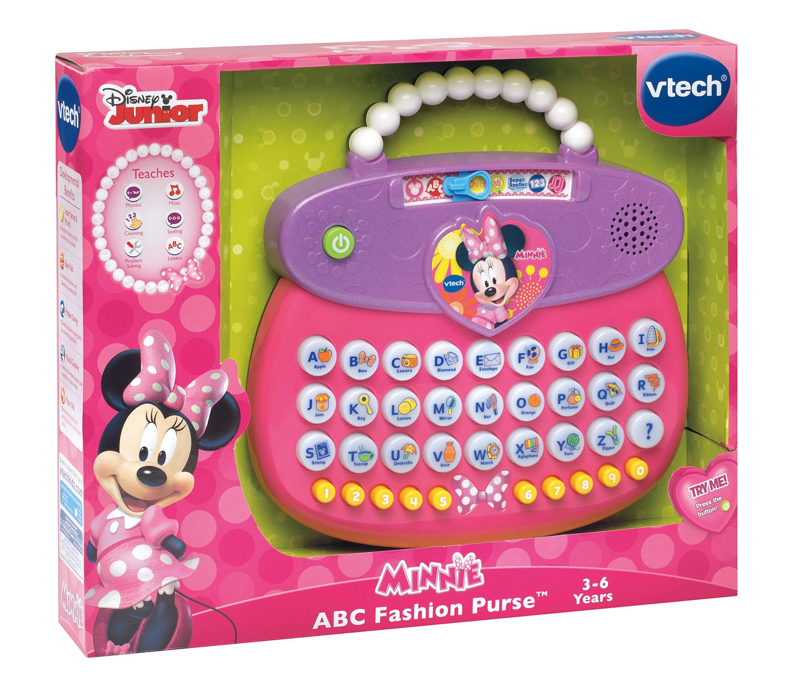 VTech Disney Minnie ABC Fashion Purse by VTech (Image #3)