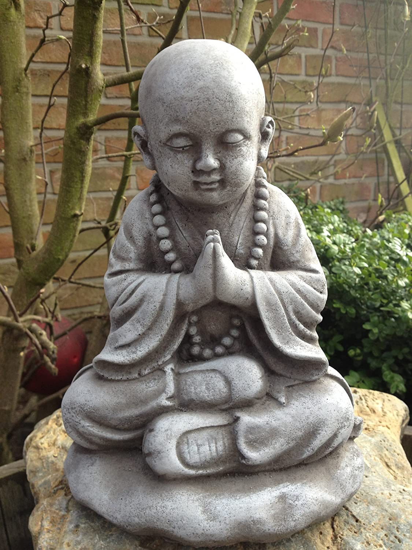 Steinfiguren Garten steinfigur buddha figur skulptur garten deko koi teich gartenfiguren