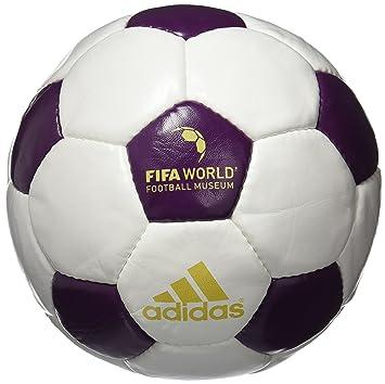 adidas FIFA Museum Balón de Fútbol UEFA Euro 2016, Hombre, Blanco ...