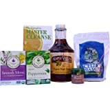 Maple Valley 5 Day Organic Master Cleanse Lemonade Detox/ Kit with Book The Complete Master Cleanse