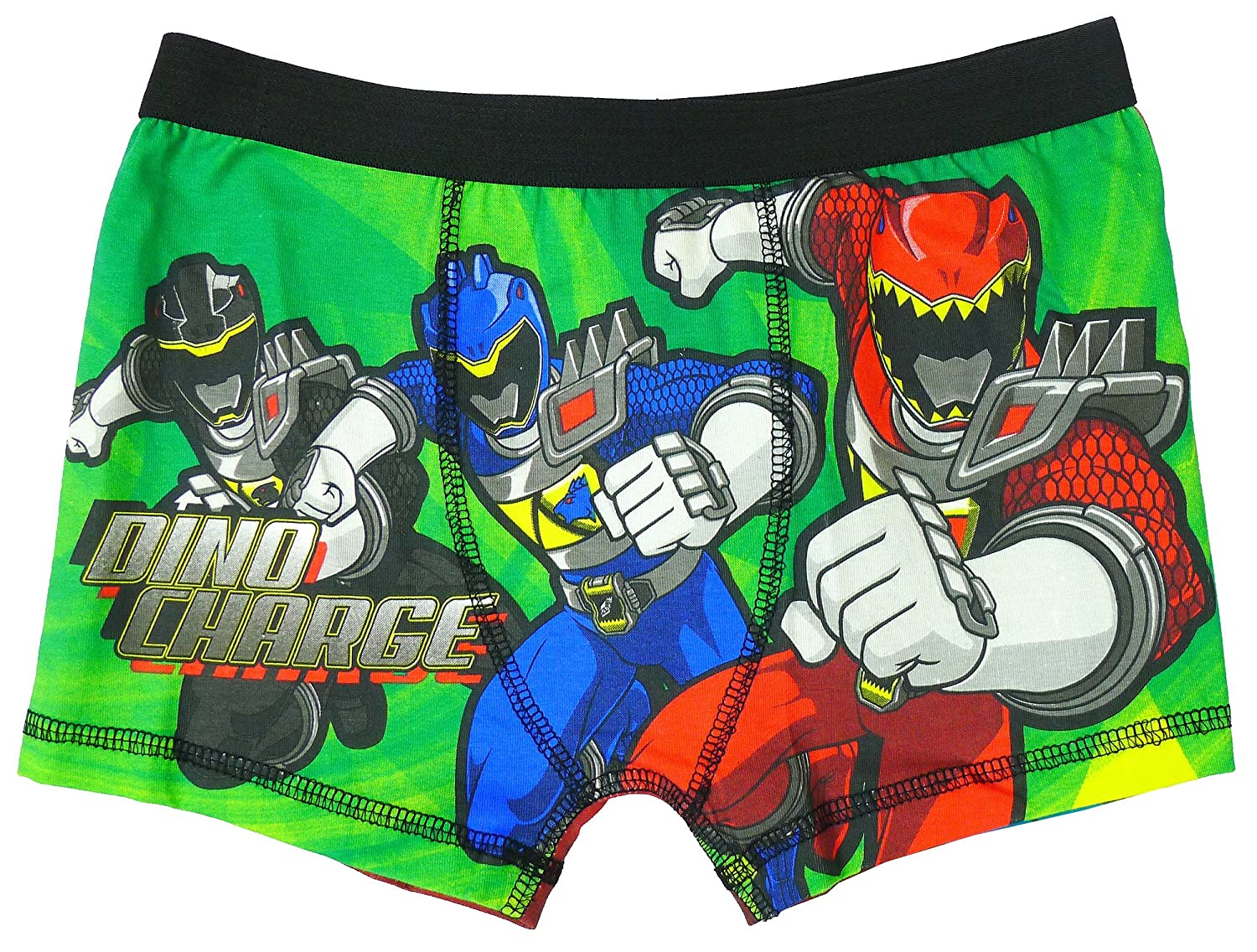 Power Rangers Boys Dino Charge Underpants Trunk Fit Briefs Boxer Shorts Sizes from 4 to 8 Years