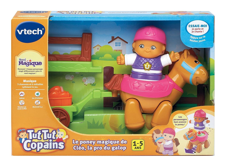 Vtech 167405 jouet musical tut tut copains le poney magique de cléo la reine du galop amazon fr jeux et jouets