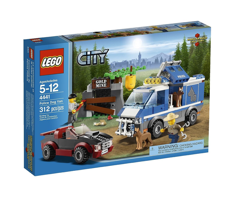 Amazoncom Lego City Police Dog Van 4441 Toys Games