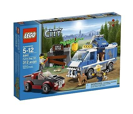 Amazon Com Lego City Police Dog Van 4441 Toys Games