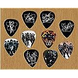 Black Veil Brides Signed Autograph Loose Médiators X 10 (Limited to 500 sets of 10 Médiators)