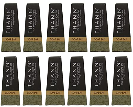 Thann Rice Bran Oil Soap lot of 12ea 1.3oz Bars. Total of 15.6oz