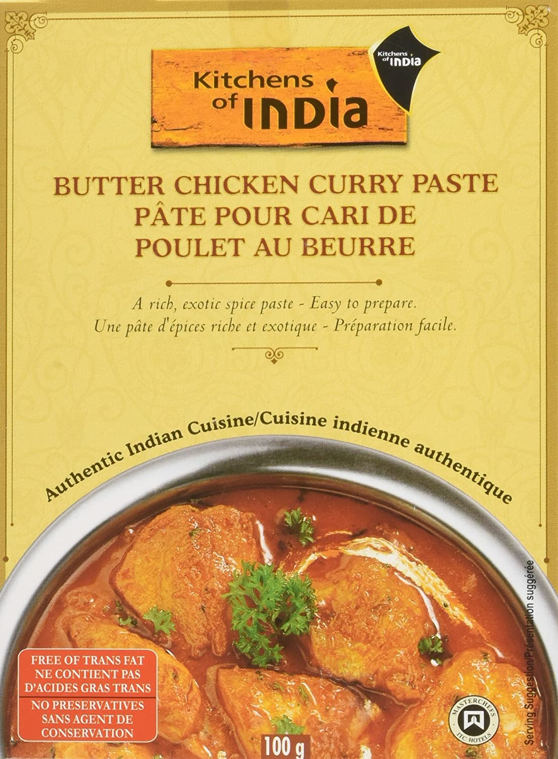 Beautiful Amazon.com : Kitchens Of India Butter Chicken Curry Paste, 3.5 Ounce    6  Per Case. : Curry Powder : Grocery U0026 Gourmet Food