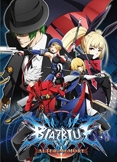 BLAZBLUE ALTER MEMORY DVD