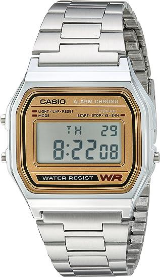 Casio A158WEA-9CF Reloj de Pulsera Digital Casual clásico para Hombre