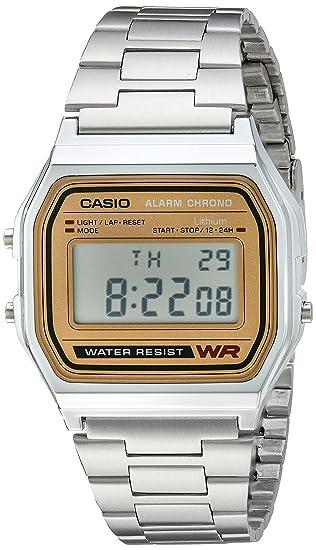 a9edeabf8a11 Casio A158WEA-9CF Reloj Digital Unisex