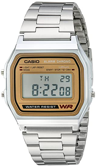 38a8d1ed0b2 Amazon.com  Casio Men s A158WEA-9CF Casual Classic Digital Bracelet ...