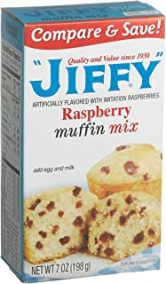 product image for Jiffy Raspberry Muffin Mix 7 oz - PACK OF 3