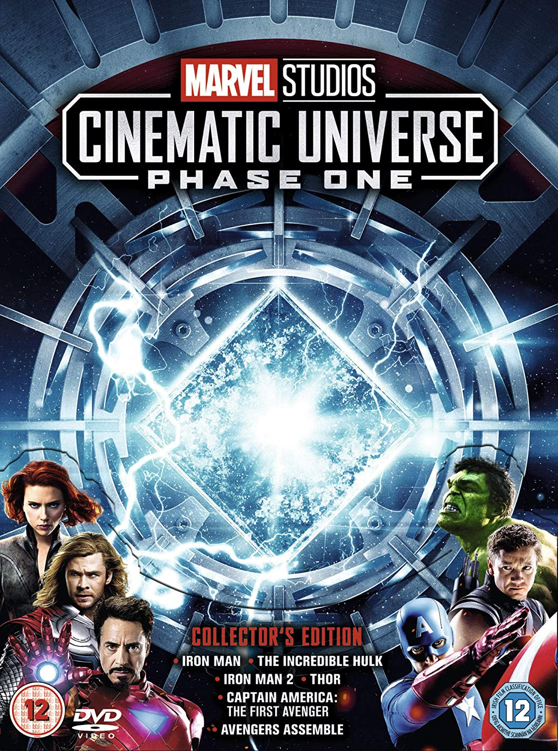 Marvel Cinematic Universe Phase 1 [Italia] [DVD]: Amazon.es: Cine y Series TV