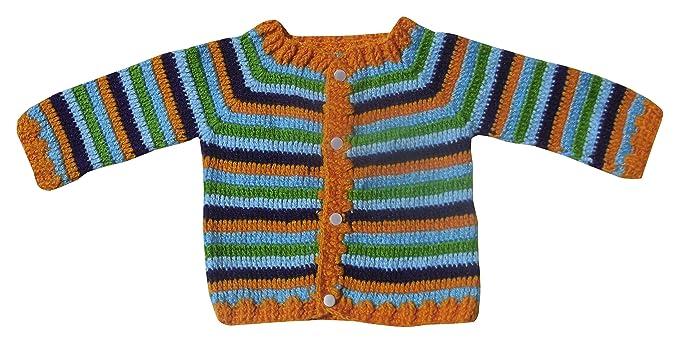 Sr Handicrafts Baby Boys Woollen Sweater Sh004 1 2 Years Multi
