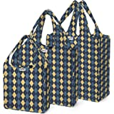 RuMe Bags Tote Matching Set Reusable Grocery Bags, Water-resistant, Lightweight