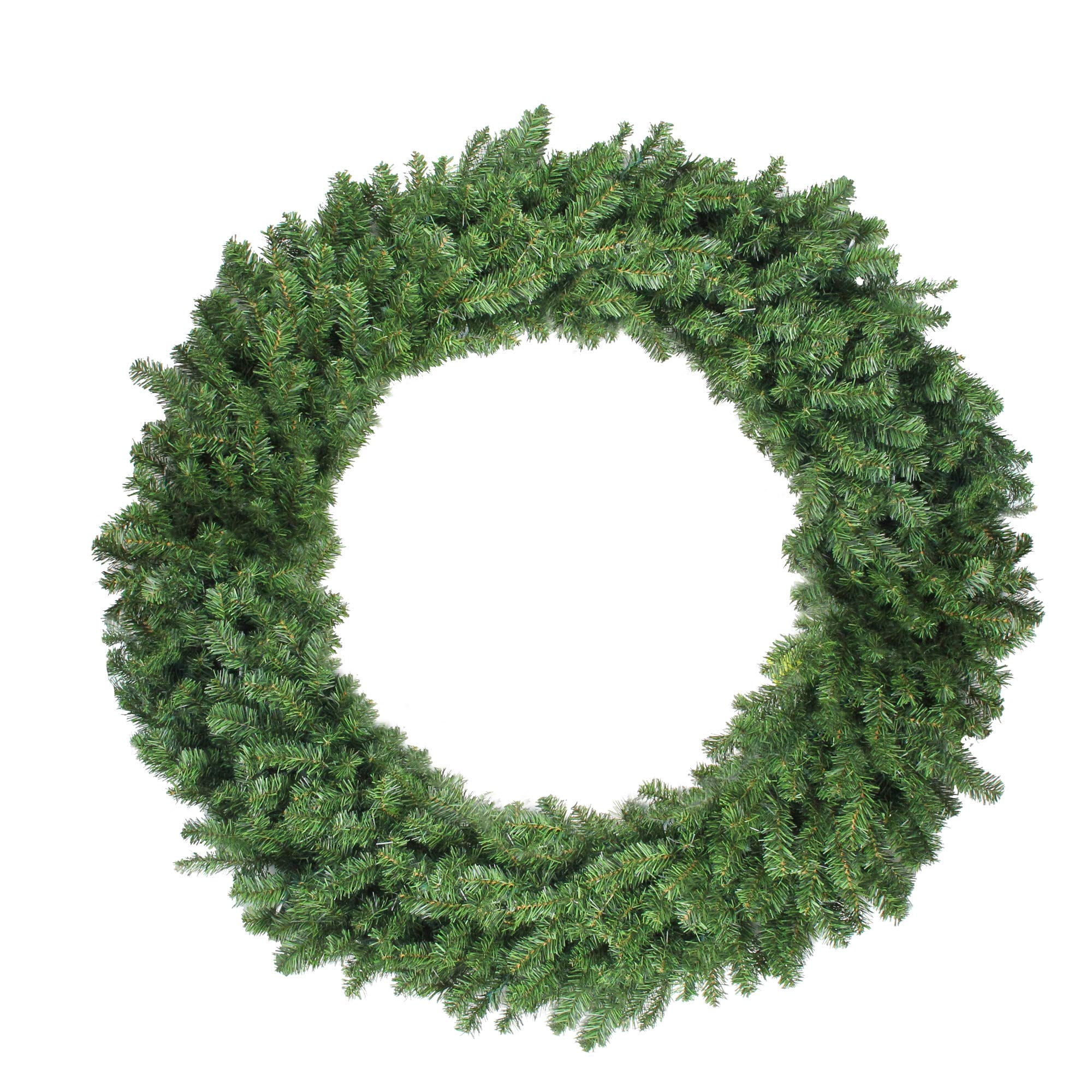 Northlight 48'' Canadian Pine Artificial Christmas Wreath - Unlit