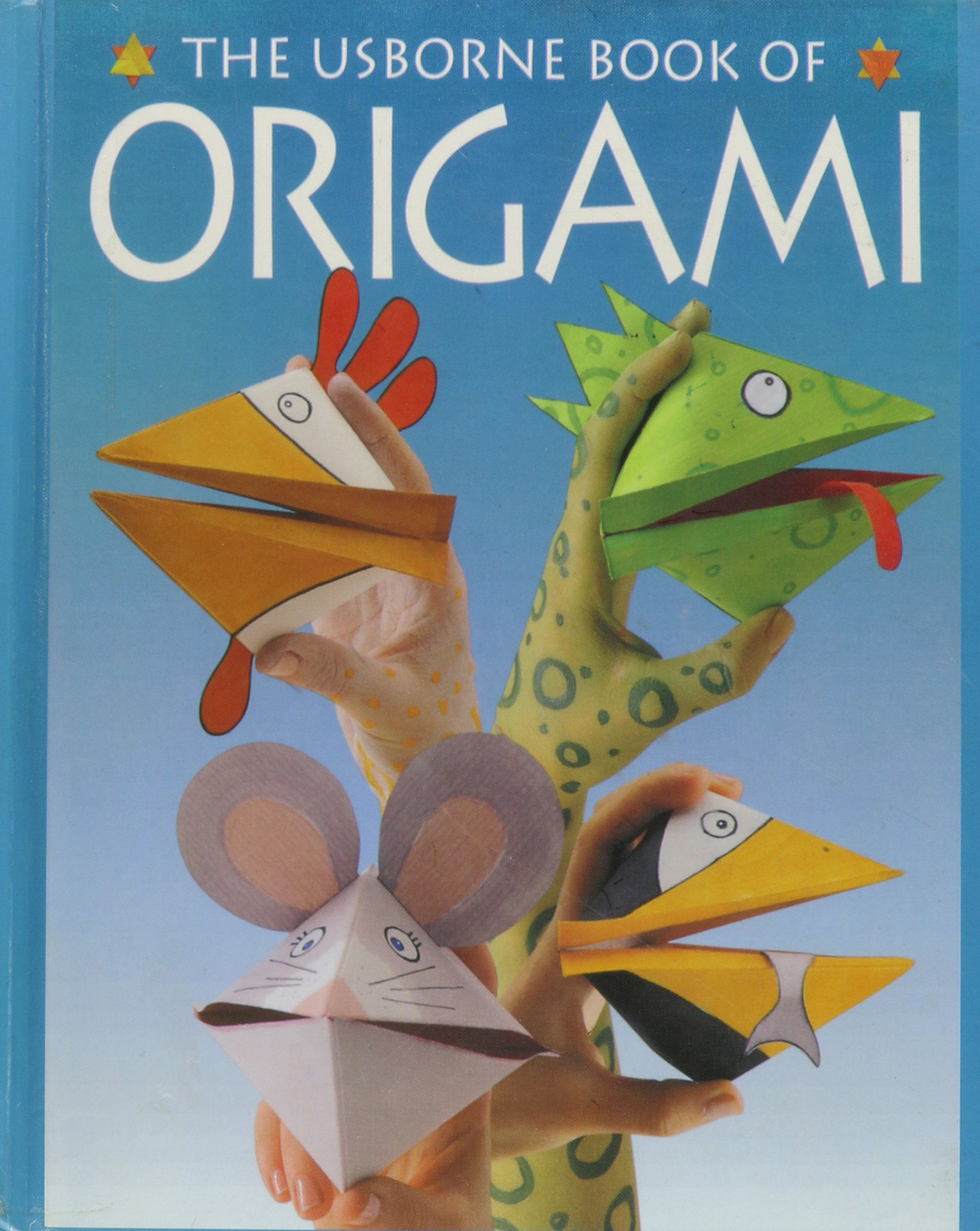 The Usborne Book Of Origami How To Make Series Eileen Obrien Christmas Bird Feeder Diagram Kate Needham Fiona Watt John Woodcock 9780881109382 Books