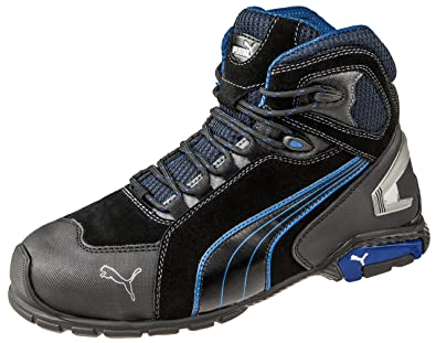 Puma Safety RIO MID 632250 Mens Aluminium Safety Shoes Black  Amazon.co.uk   Welcome fb62712b4