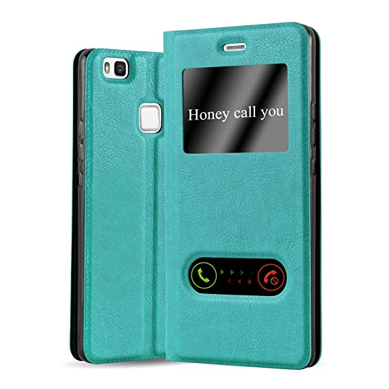 watch 4a934 33f8f Amazon.com: Cadorabo Book Case Works with Huawei P9 LITE in Mint ...