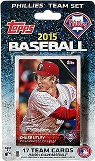 product image for MLB Philadelphia Phillies Licensed 2015 Topps® Team Set