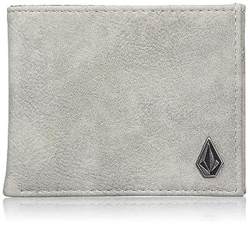 6faec35b4 Volcom - Slim Stone Pu Wlt Grau Geldbörse, Carteras Hombre, Gris (Grey),  2x11x9 cm (B x H T): Amazon.es: Zapatos y complementos