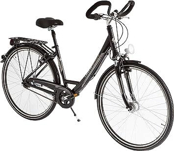 Ultrasport Wave, 28 Inches Bicicleta Urbana de Aluminio, Mujer ...