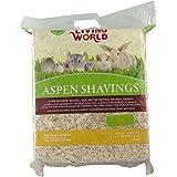 Living World Wood Aspen Shavings, 2500-Cubic Inch