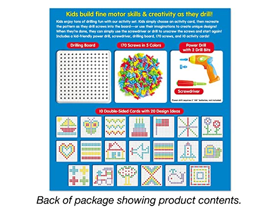 Create Design Drill Kit Amazoncouk Toys Games