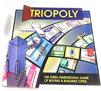 Triopoly Monopoly Style Game Board Game by Reveal Entertainment, Inc.: Amazon.es: Juguetes y juegos
