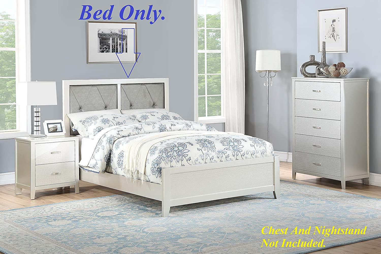 Amazon.com: Esofastore Classic Modern Bedroom Furniture Twin ...