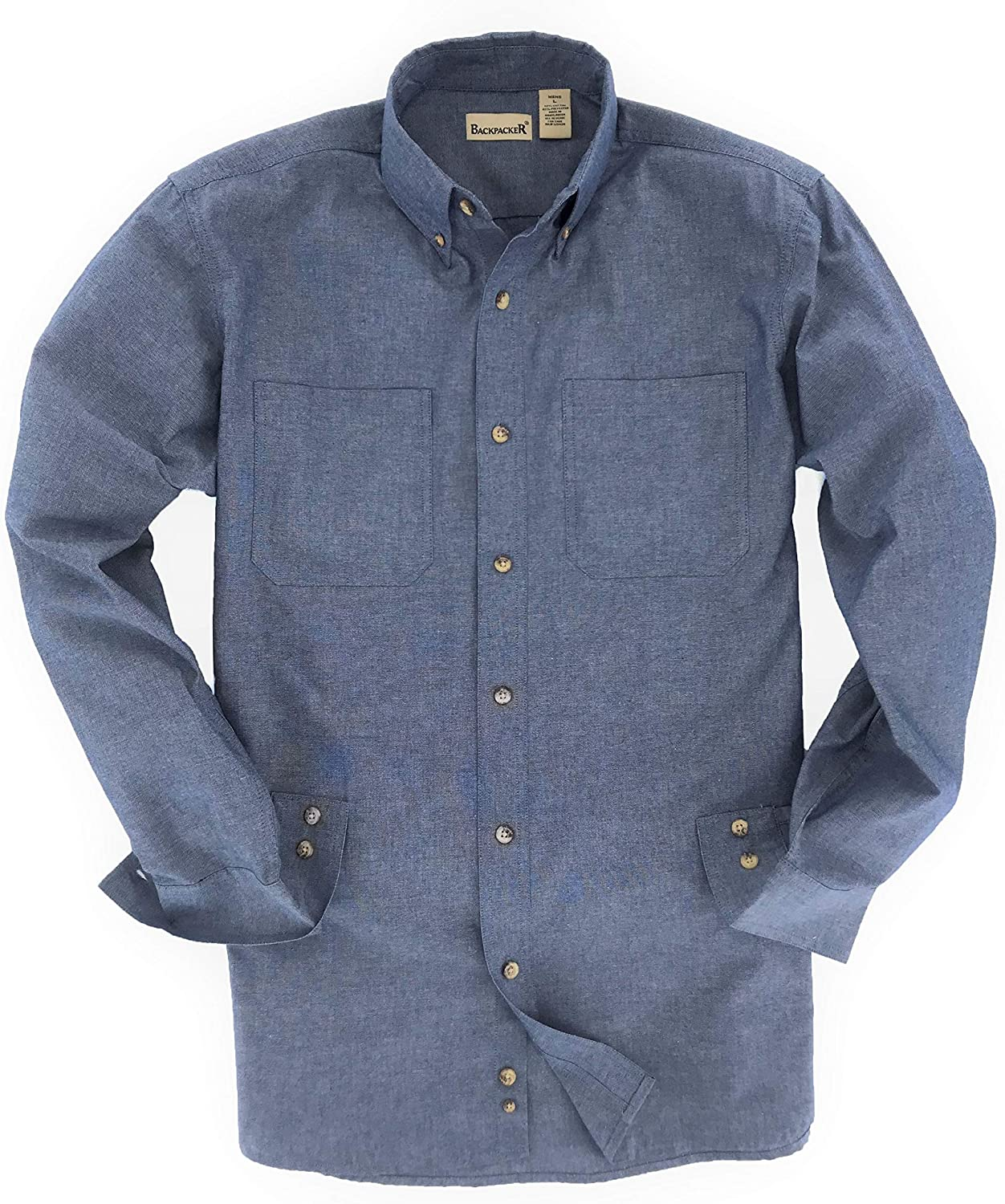 Backpacker Wrinkle Free Chambray