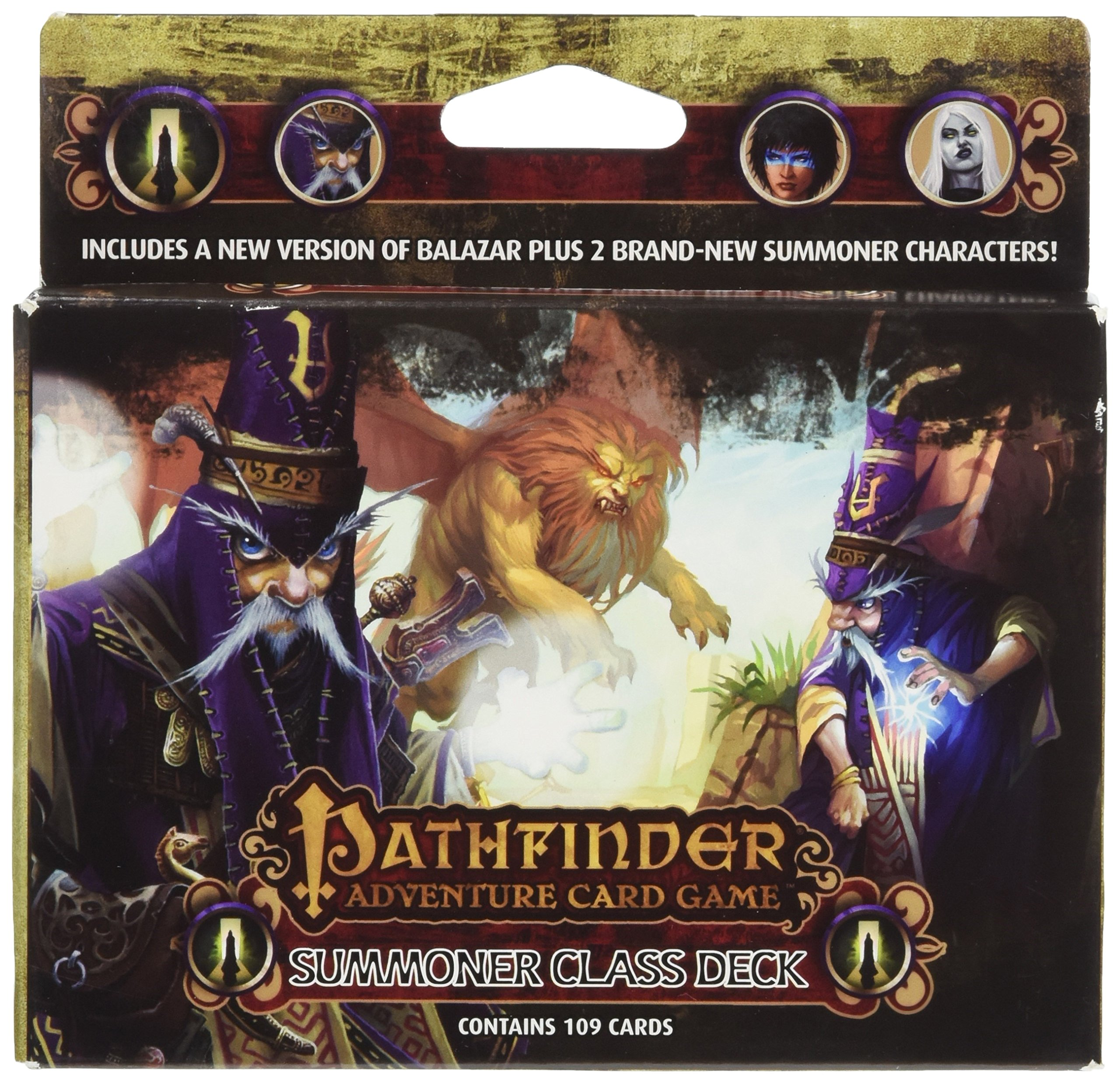 Pathfinder Adventure Card Game: Summoner Class Deck: Amazon ...