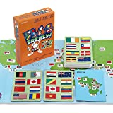 Flag Frenzy! Educational Geography Card Game by Geotoys